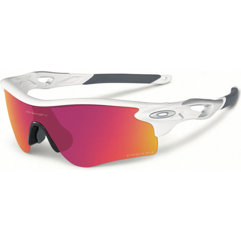 Oakley Sport Radarlock Path Polished White Sunglasses | Prizm Infield OO9181-33