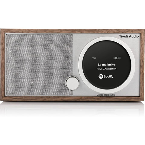 Tivoli Audio Model One Digital Bluetooth Speaker Radio | Walnut M1DWAL