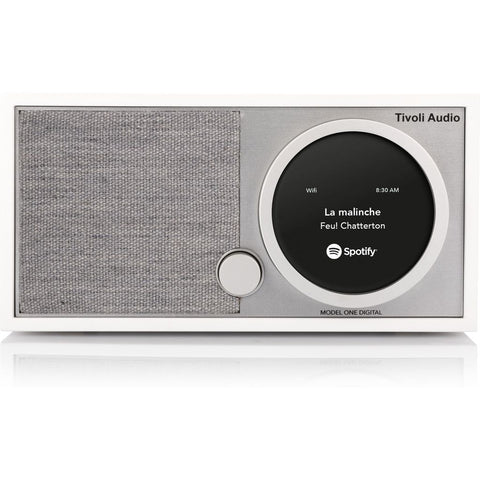 Tivoli Audio Model One Digital Bluetooth Speaker Radio | White M1DWHT