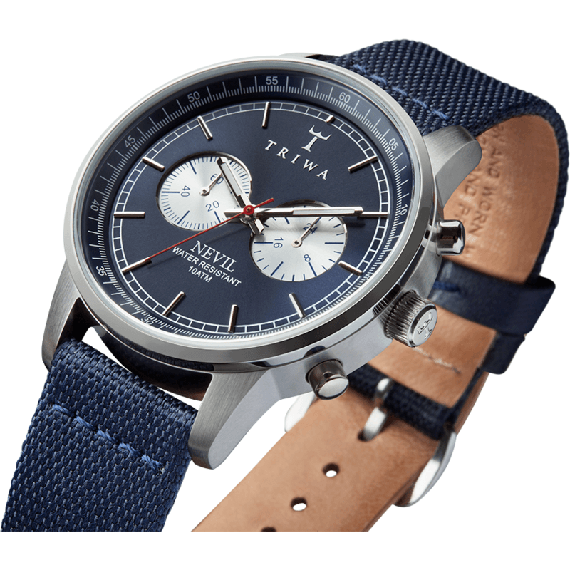 Triwa Nevil Watch Blue Steel NEST108