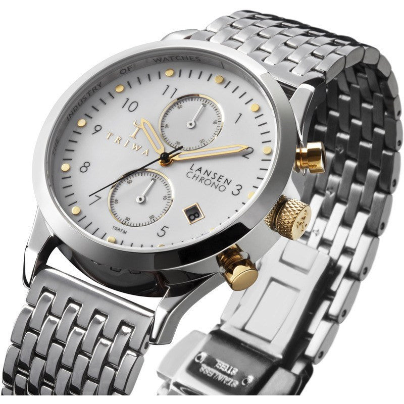 Triwa Lansen Chrono Watch Ivory LCST106