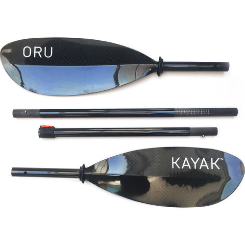 Oru 4-Piece Adjustable Kayak Paddle | Carbon Fiber