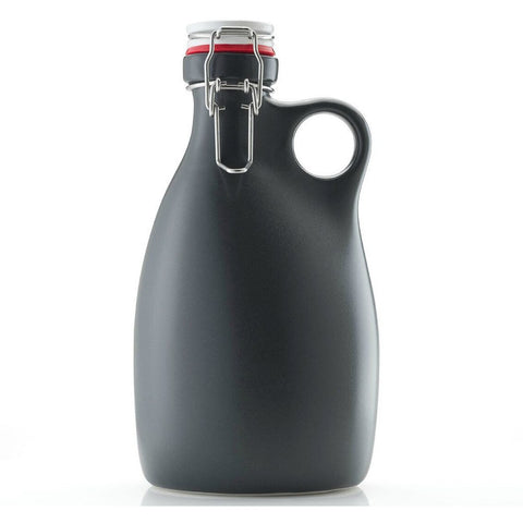 Orange Vessel Co. Stoneware Growler 64 oz. | Charcoal