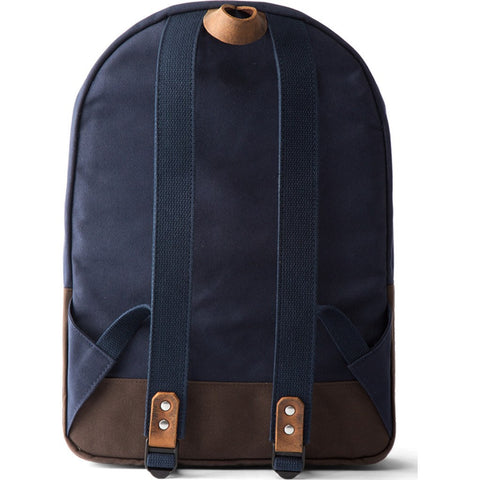 Jack + Mulligan Miller Backpack | Navy / Brown
