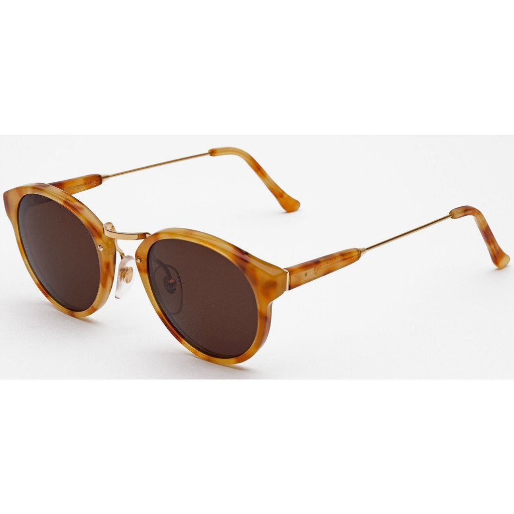 RetroSuperFuture Panama Sunglasses | Vintage Havana Gold