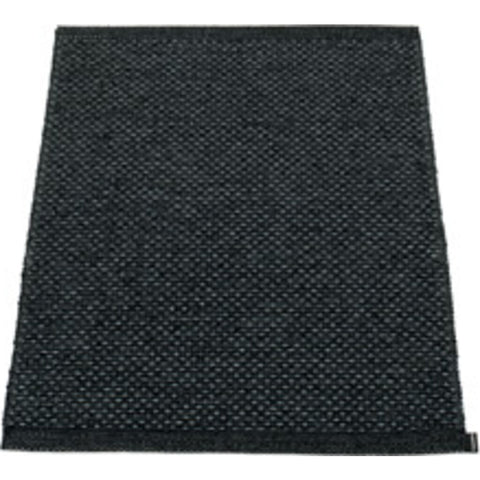 Pappelina Svea Woven Plastic Washable Rug With Double Folded Hemmed Edge