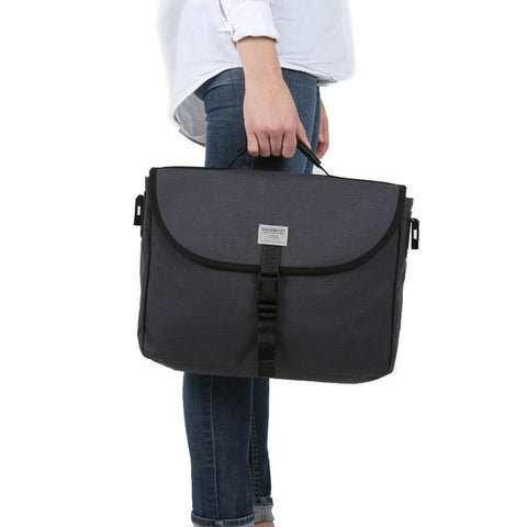 Sandqvist Patrik Messenger Briefcase | Dark Grey SQA565