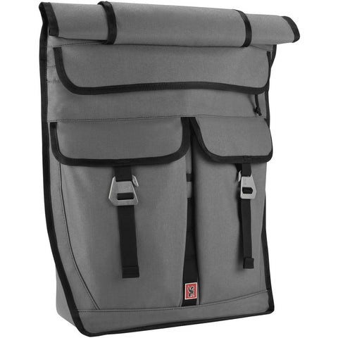 Chrome Pawn Rolltop Backpack | Grey