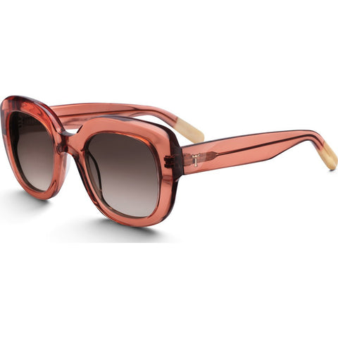 Triwa Ingrid Sunglasses | Peach SHAC173