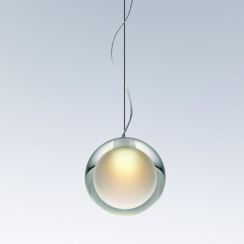 Yamagiwa Teardrop Pendant Light | Glass Aluminum