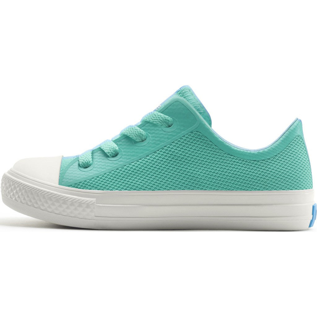 People Footwear Phillips Junior Shoes | Poolside Green/Picket White