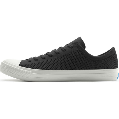 People Footwear Phillips Knit Men's Shoes | Really Black/Picket White