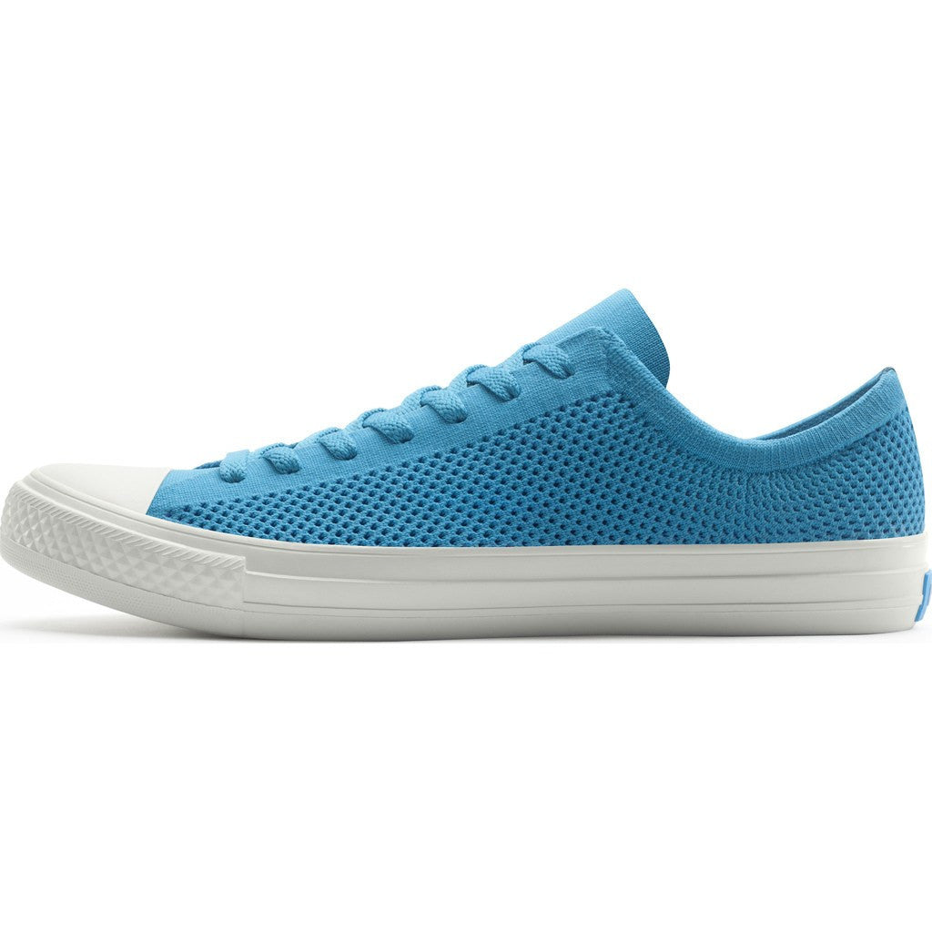 People Footwear Phillips Knit Men's Shoes | Social Blue/Picket White