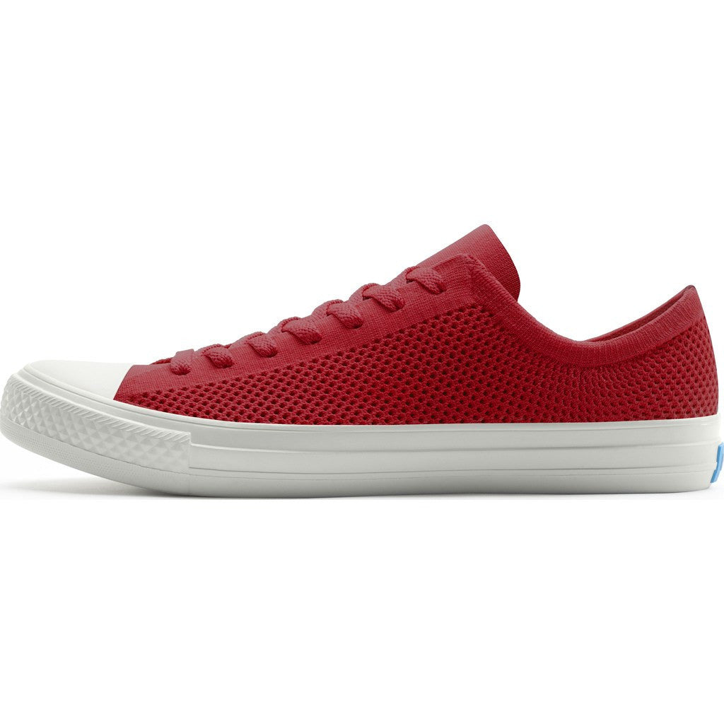 People Footwear Phillips Knit Men's Shoes | Supreme Red/Picket White