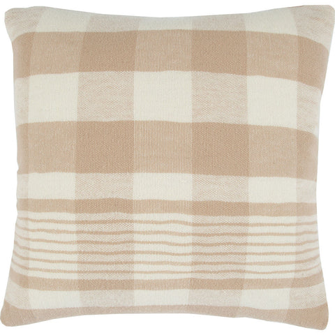 Faribault Plaid Lightwool Pillow Case | Beige-BPFPBG1440