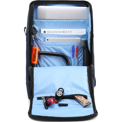 Pinqponq Large Cubik Backpack | Astral Blue PPC-BPL-002-329