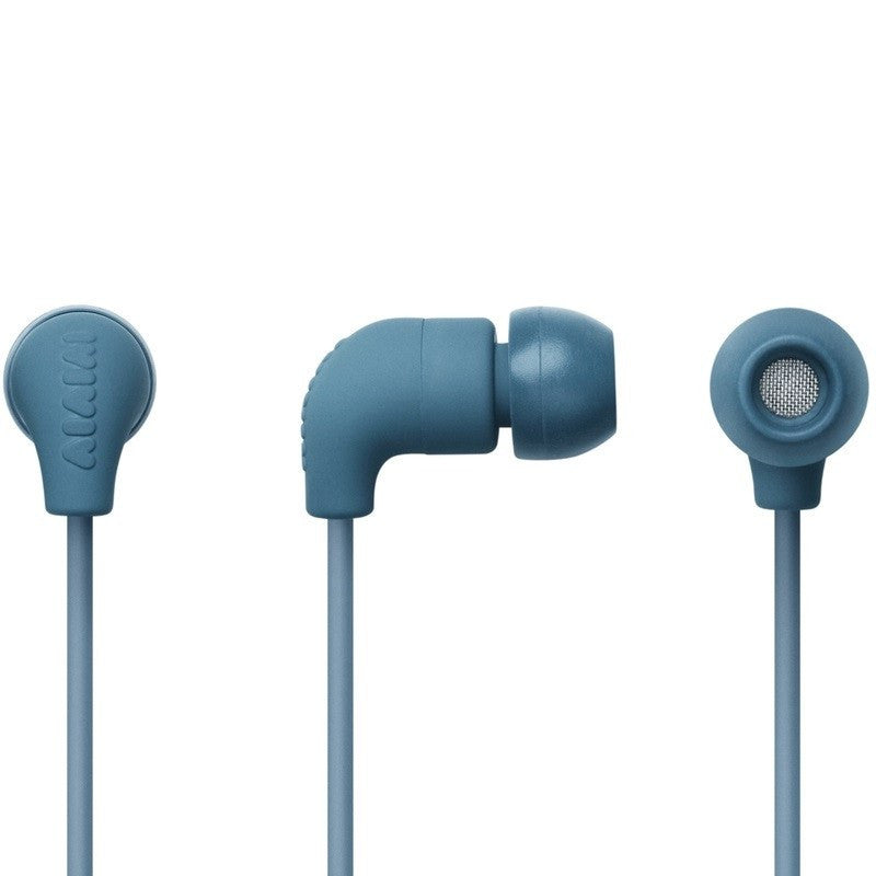 AIAIAI Pipe Earphones with Mic | Petrol Gradient