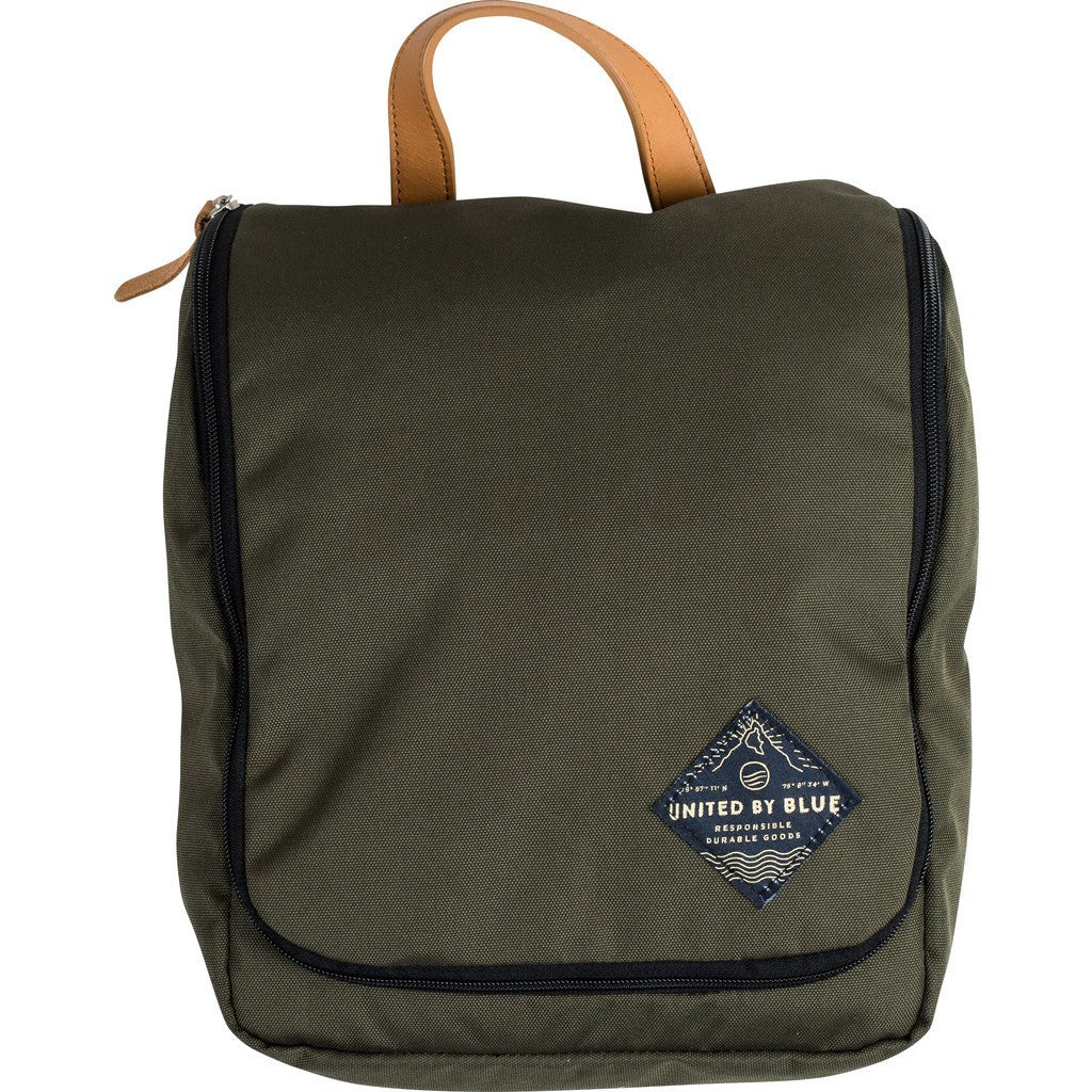 United By Blue Pitch Toiletry Bag | Olive PITCHTO-OL