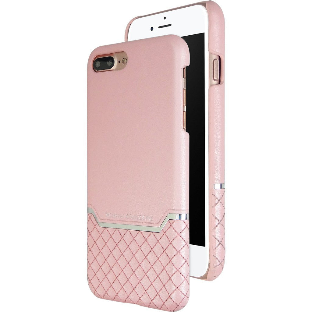 DRACOdesign Venano B Plus Leather Back Cover Case for iPhone 7 Plus | DVC-i7P2GLPK Pink