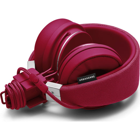 UrbanEars Plattan 2 On-Ear Headphones | Beryl Red - 4092053