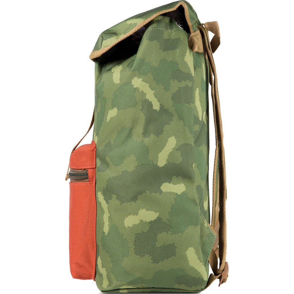 Poler Field Pack Backpack | Green Camo 432004-GCO