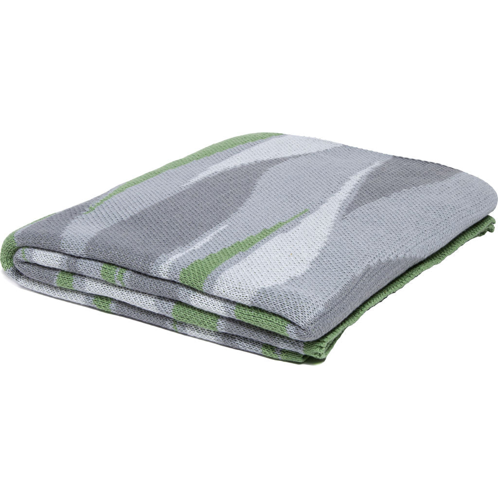 in2green Poly Breakers Eco Throw | Fern/Storm/Stone/White - Poly-BR09