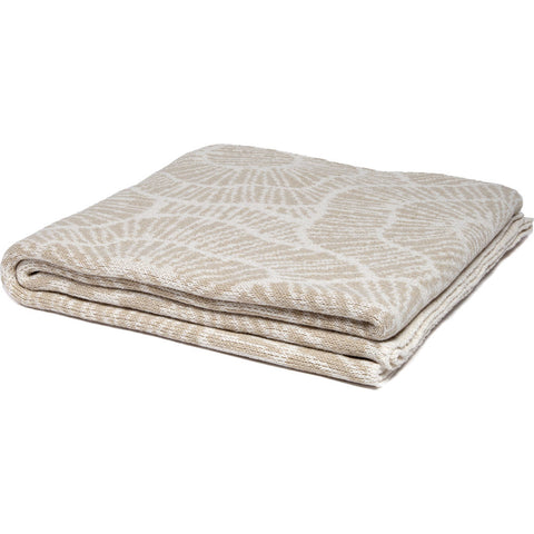 Stacy Garcia Poppy Eco Throw | Flax/Milk- SG-PY02