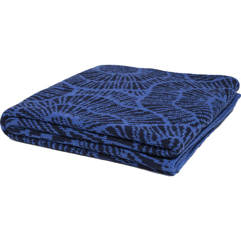 Stacy Garcia Poppy Eco Throw | Marine/Ocean- SG-PY04