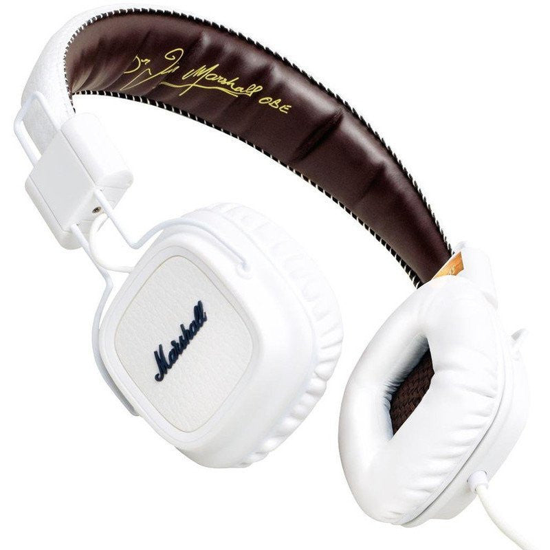 Marshall Major On-Ear Headphones | White