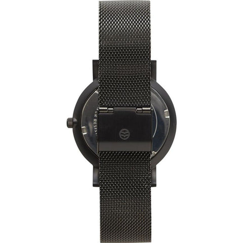 Shore Projects Morecambe Watch with Mesh Strap | Black W014S018B
