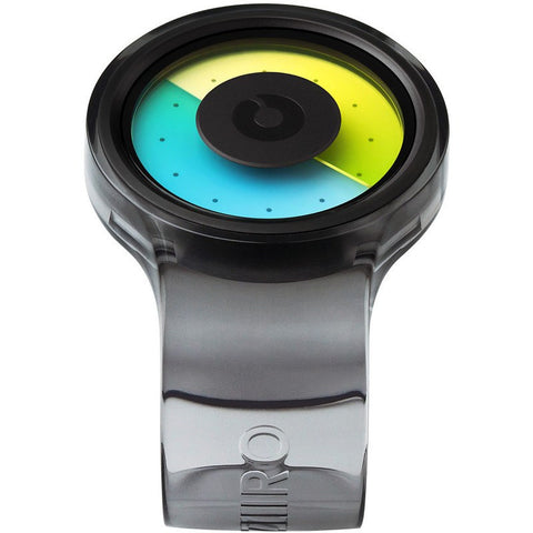 ZIIIRO Proton Transparent Smoke Watch | Z0006WBT