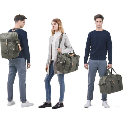 Qwstion Weekender Bag | Organic Forest Green- WEKOFGV2