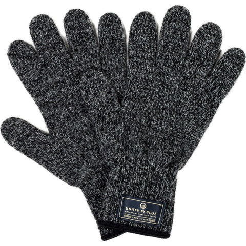 United By Blue Ragg Wool Gloves | Charcoal L 00A-1RG-CH4