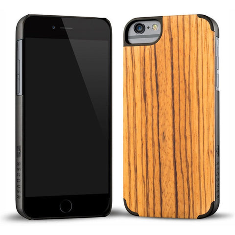 Recover Classic Wood iPhone 6 Case | Zebrawood