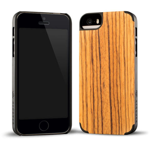 Recover Classic Wood iPhone 5/5s Case | Zebrawood