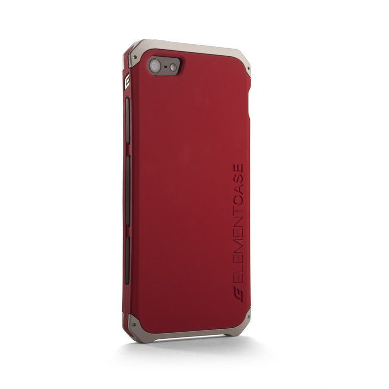 ElementCase Solace iPhone 5/5s Case Red/Silver