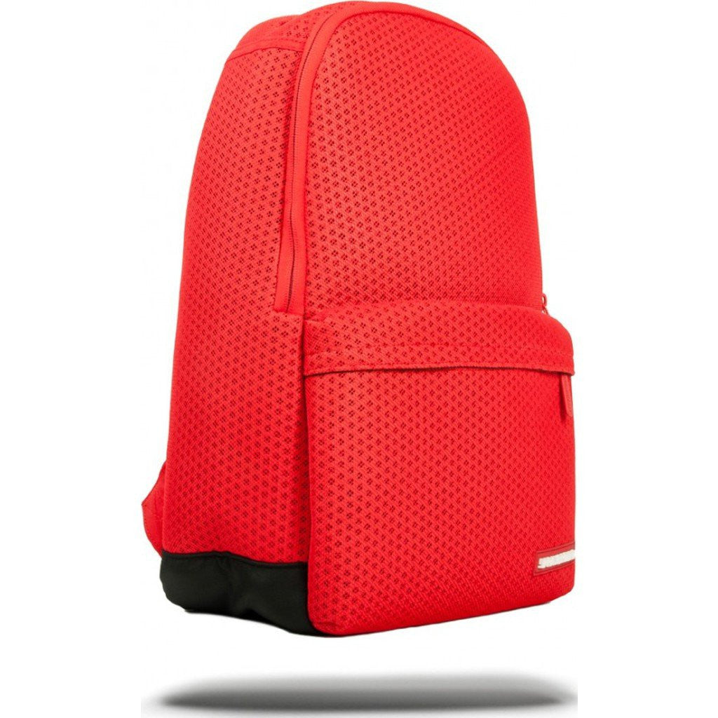 Sprayground Red Hex Mesh Cargo Backpack | Red