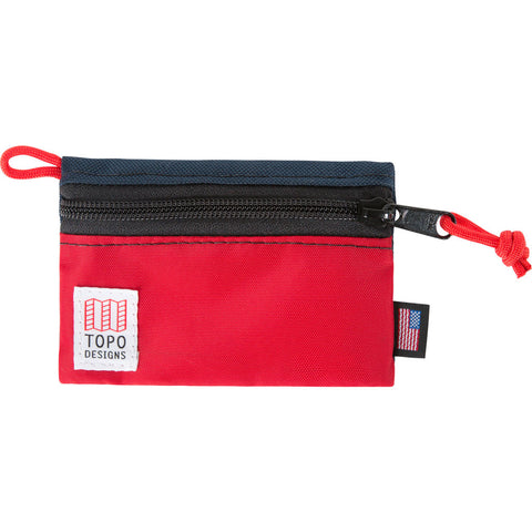 Topo Designs Accessory Bags | Navy/Red