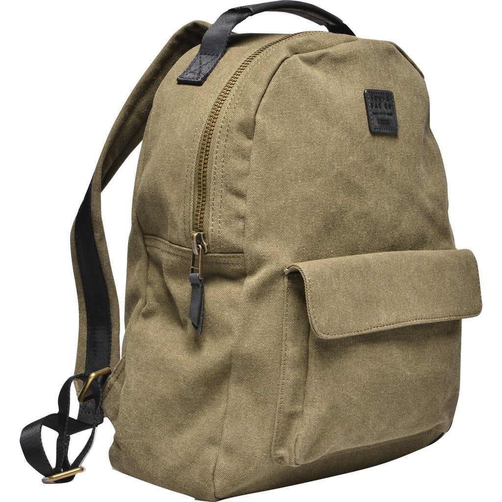 Souve Bag Co Canvas Medium Backpack | Olive [AR00043]
