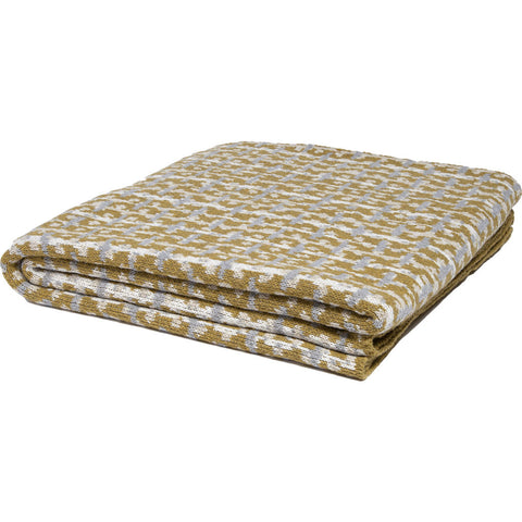 Stacy Garcia Retro Eco Throw | Smoke/Milk/Flax/Alum- SG-RT02