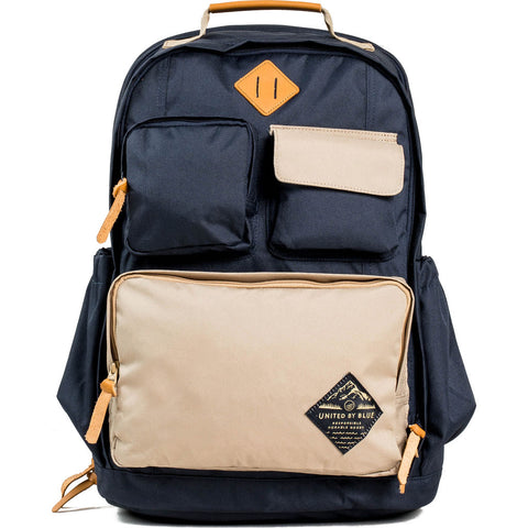 United By Blue 24L Arid Backpack | Navy/Tan- 504-0022-3639