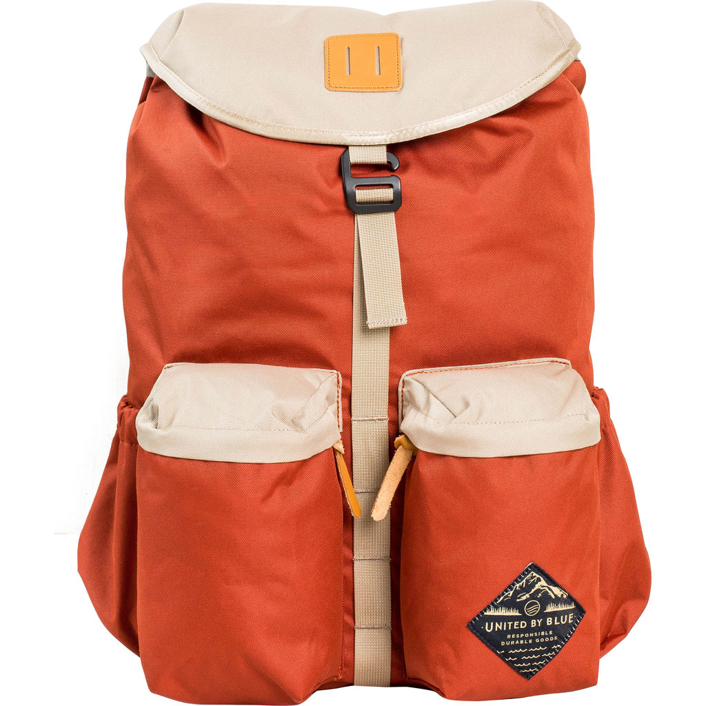 United By Blue 30l Base Backpack Rust Tan Sportique