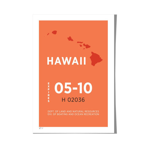 "Roo Kee Roo Art Print | Hawaii 13"" x 19"""