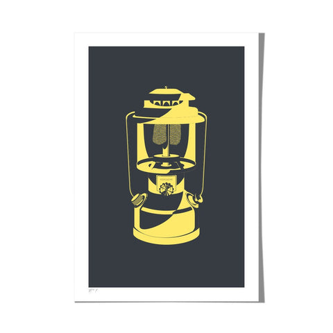 "Roo Kee Roo Art Print | Lantern Two-Color 13"" x 19"""