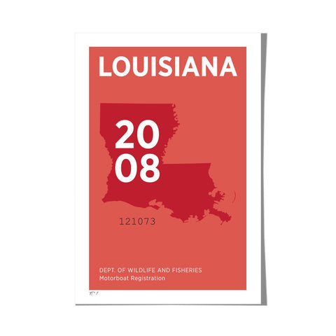 "Roo Kee Roo Art Print | Louisiana 13"" x 19"""