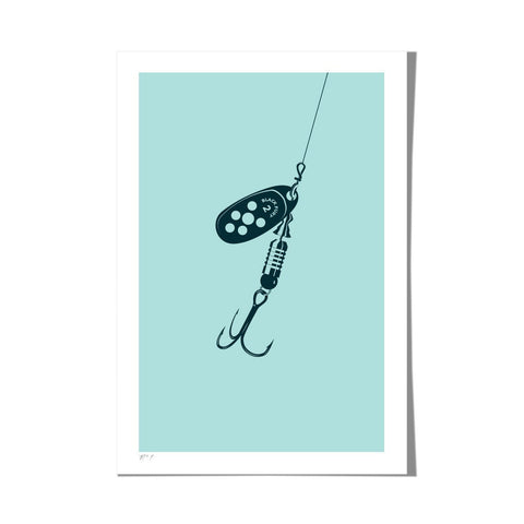 "Roo Kee Roo Art Print | Lure II Two-Color 13"" x 19"""