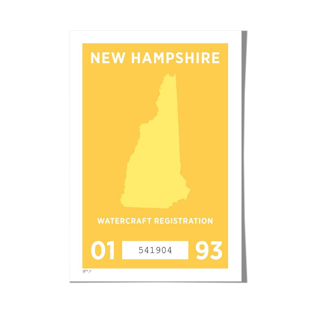 "Roo Kee Roo Art Print | New Hampshire 13"" x 19"""