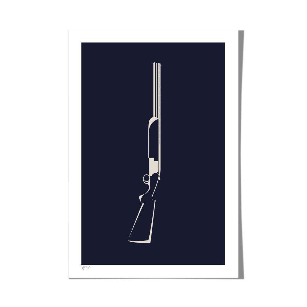 Roo Kee Roo Art Print | Shotgun Two-Color