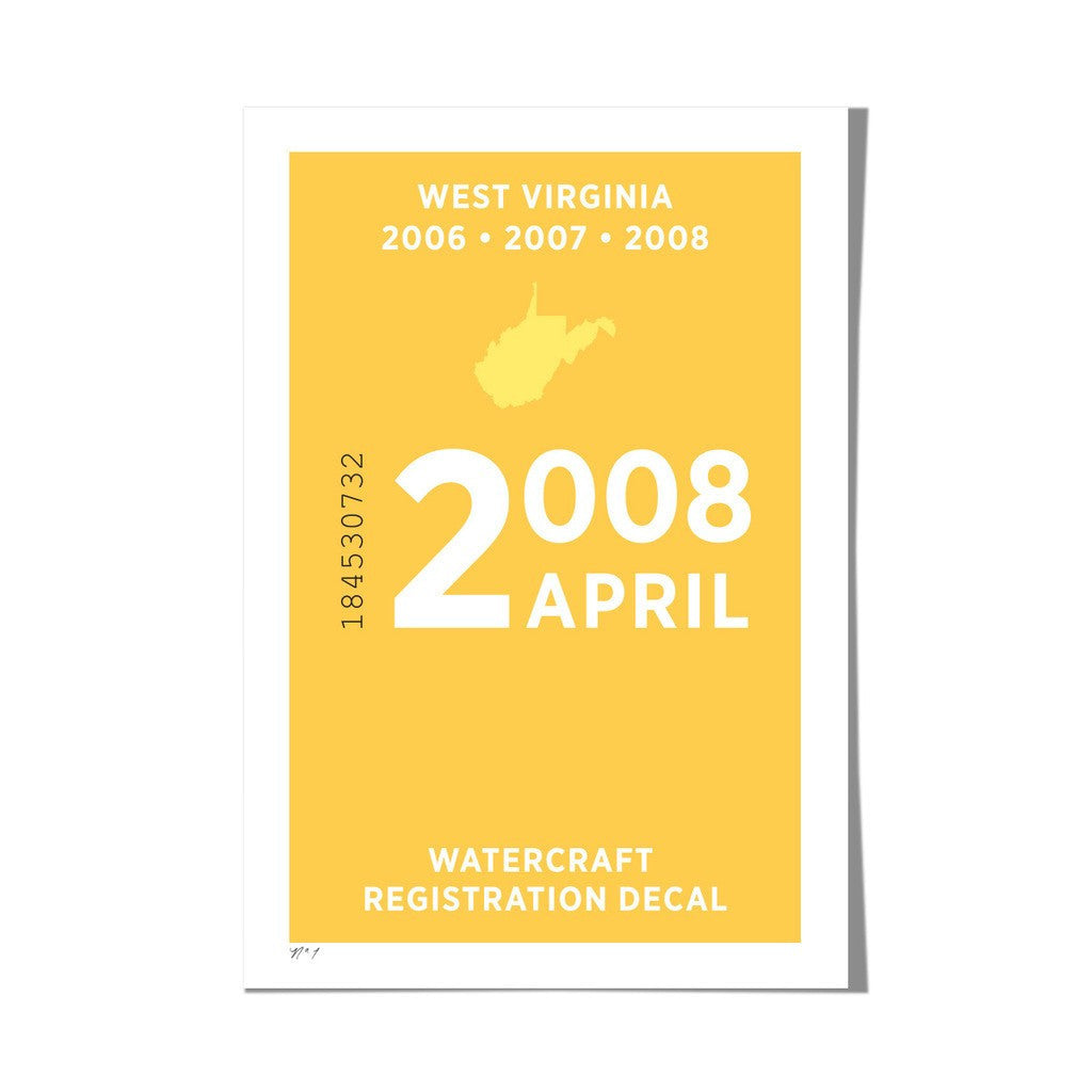 "Roo Kee Roo Art Print | West Virginia 13"" x 19"""