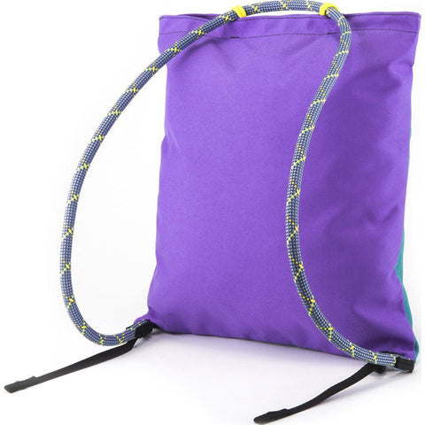Topo Designs Rope Pack Backpack Tote | Turquoise/Violet